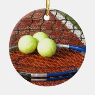 Tennis Ceramic Ornament