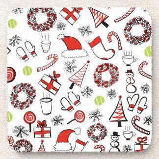 Tennis Christmas Coaster