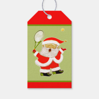 tennis Christmas Gift Tags