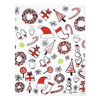 Tennis Christmas Letterhead