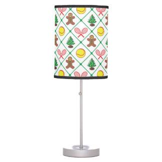 Tennis Christmas pattern Table Lamp