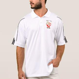 tennis Christmas Polo Shirt