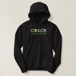 Tennis Coach Custom Name Hoodie