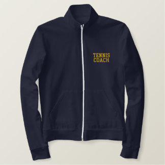 TENNIS COACH EMBROIDERED JACKET