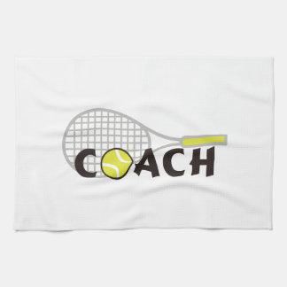 TENNIS COACH KITCHEN TOWEL