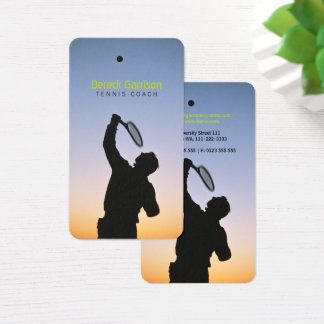 Tennis Coach | Sport Business Card