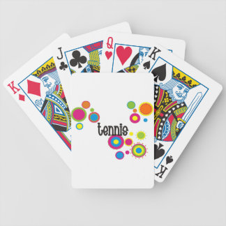 Tennis Cool Polka Dots Bicycle Playing Cards
