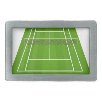 Tennis Court Belt Buckles