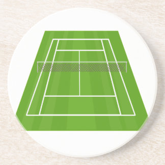 Tennis Court Coaster