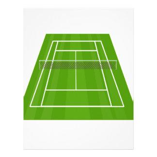 Tennis Court Letterhead
