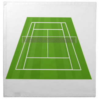 Tennis Court Napkin