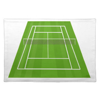 Tennis Court Placemat