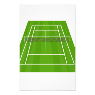 Tennis Court Stationery
