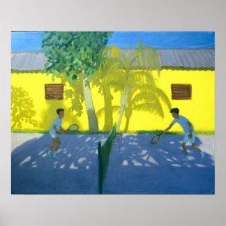 Tennis Cuba 1998 Poster