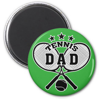 Tennis dad magnet