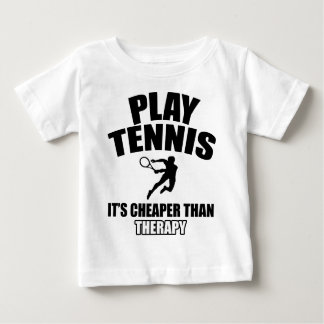 Tennis   design baby T-Shirt