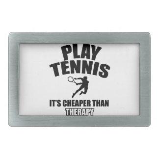 Tennis   design belt buckle