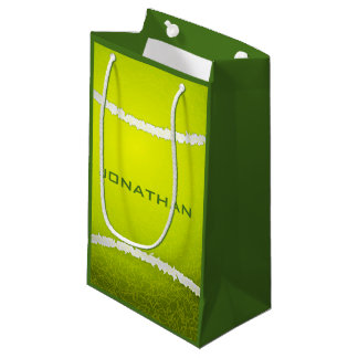 Tennis Design Gift Bag