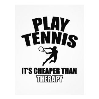 Tennis   design letterhead