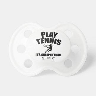 Tennis   design pacifier