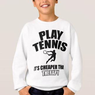 Tennis   design sweatshirt