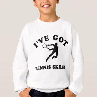 Tennis designs and gift items sweatshirt