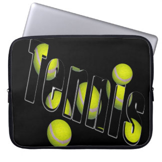 Tennis Dimensional Logo, 15inch Laptop Sleeve