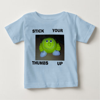 tennis_dude, STICK, YOUR, THUMBS, UP Baby T-Shirt