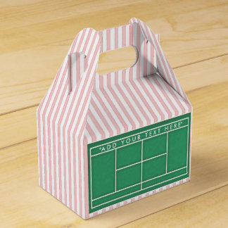 Tennis Favor Box