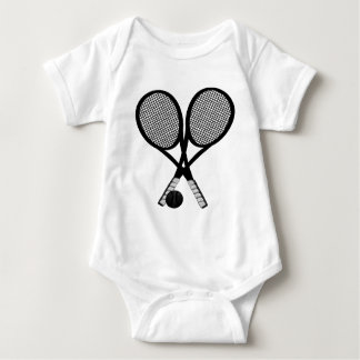 TENNIS FOR TWO BABY BODYSUIT