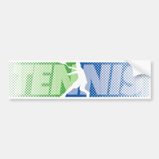 Tennis Gifts for players and fans bumper sticker