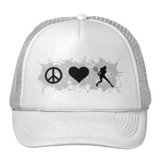 Tennis Girl 3 Trucker Hat