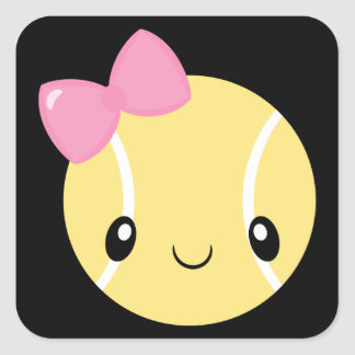 Tennis Girl Emoji Stickers