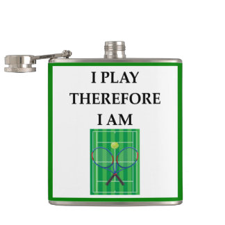tennis hip flask
