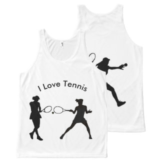 Tennis image for All-Over Printed Unisex Vest