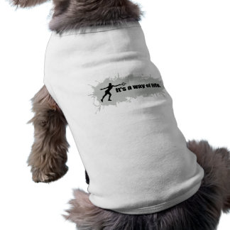 Tennis is a Way of Life (Female) Doggie Tee