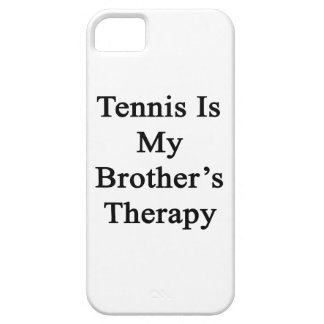 Tennis Is My Brother's Therapy iPhone 5/5S Cover