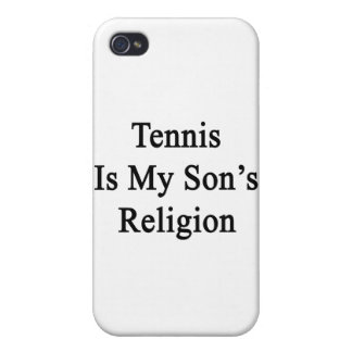 Tennis Is My Son's Religion Covers For iPhone 4