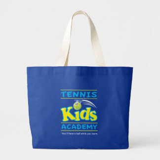Tennis Kids Academy_You'll have a ball Large Tote Bag