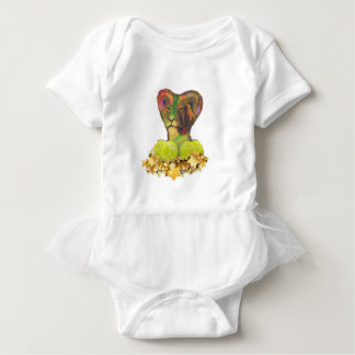 Tennis, Lion and the Stars Baby Bodysuit