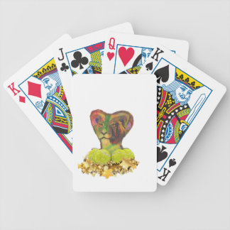 Tennis, Lion and the Stars Bicycle Playing Cards