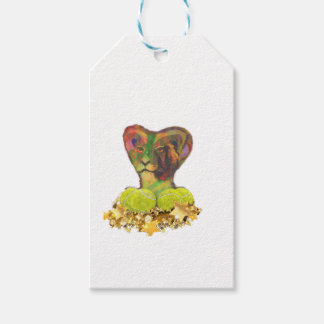 Tennis, Lion and the Stars Gift Tags