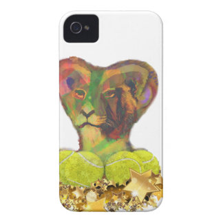 Tennis, Lion and the Stars iPhone 4 Cover