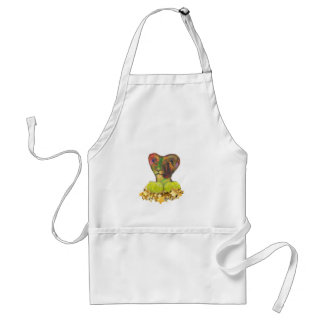 Tennis, Lion and the Stars Standard Apron