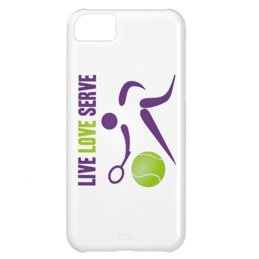 Tennis: Live. Love. Serve iPhone 5C Case