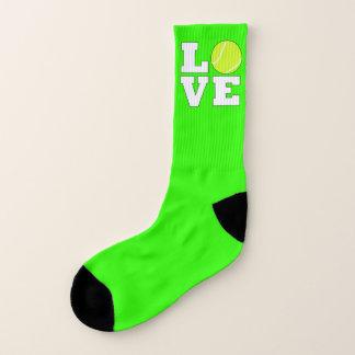 Tennis Love Custom Color Tennis Player Socks 1