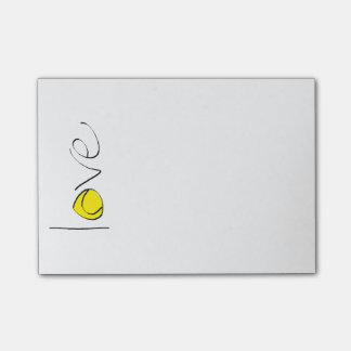 Tennis Love Post-Its Post-it Notes