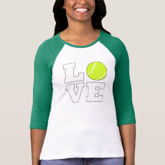 Tennis Love Shirt for Tennis Player and Coaches