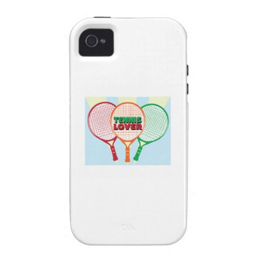 Tennis Lover Case-Mate iPhone 4 Case