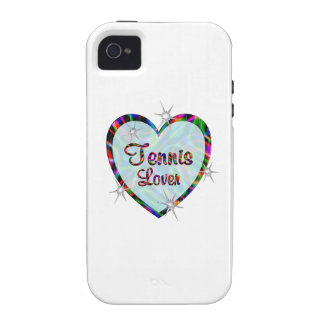 Tennis Lover Vibe iPhone 4 Cover